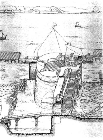 Светличная башня рисунок в м савкова